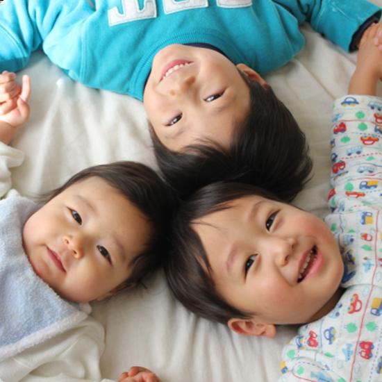 乳幼児健診の写真